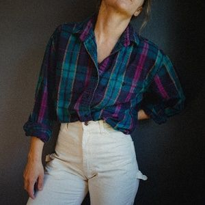 Vintage Woolrich Flannel Button Up Shirt